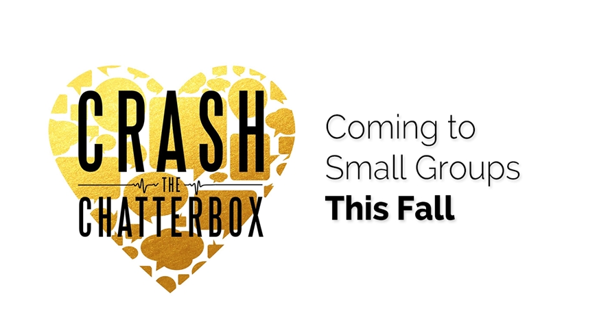 Coming to Champion Life Groups, the small groups of Champions Centre, this fall.
