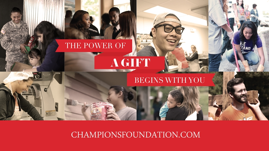 The power of a Gift begins with you.