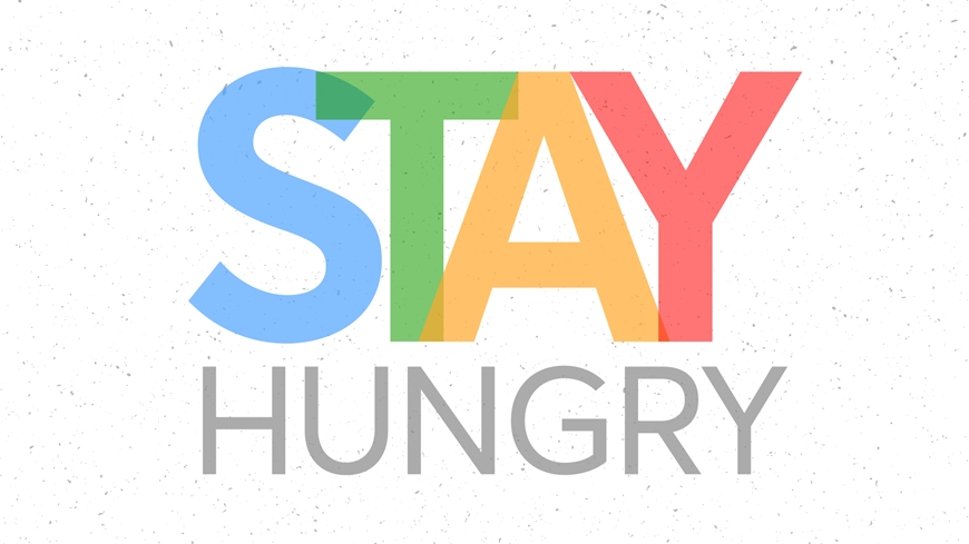 Stay Hungry Cover