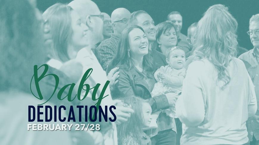 Baby Dedications February 2016