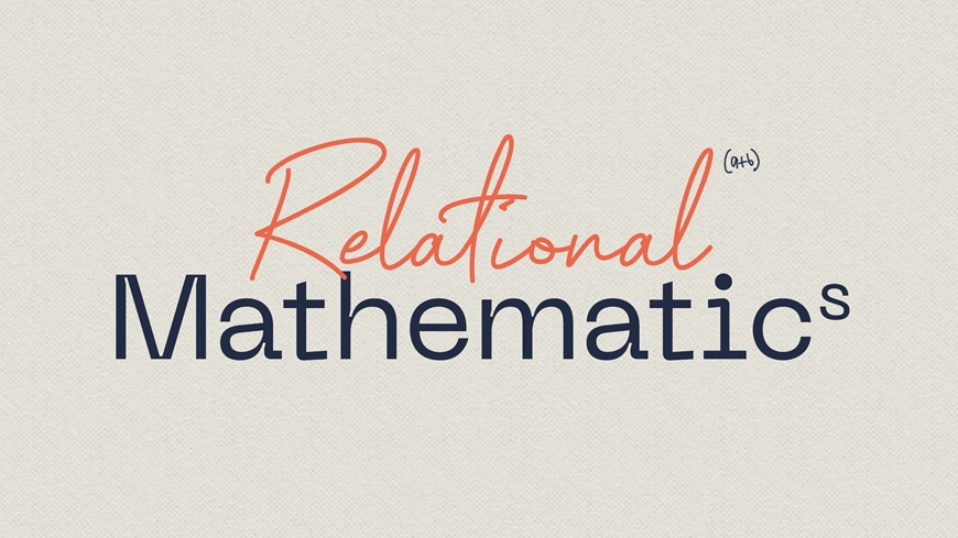 Relational Mathematics Cover Graphic