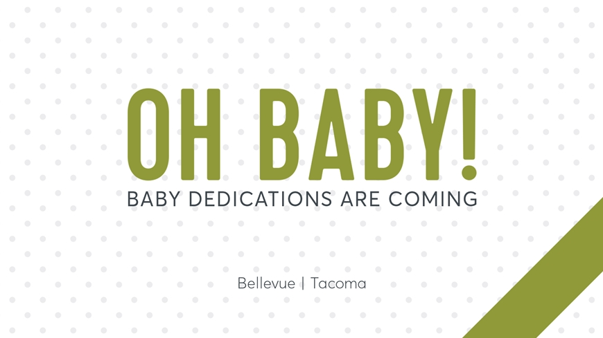Baby Dedications Cover 2017