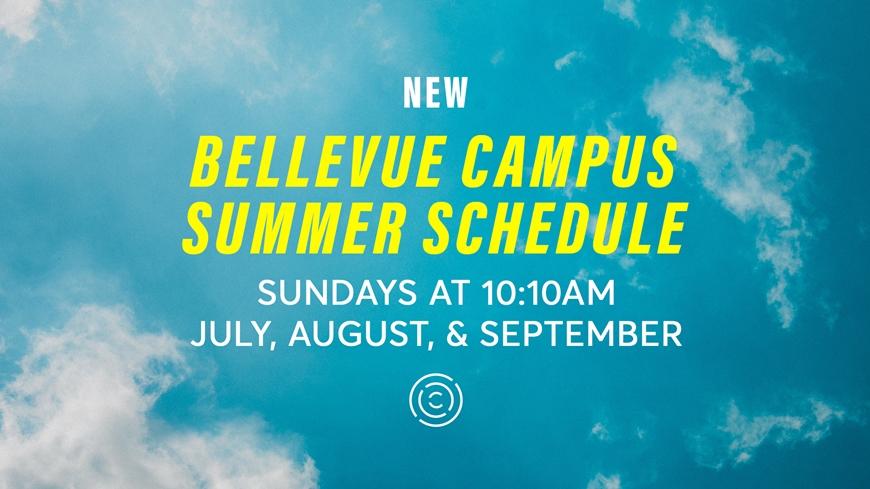 Bellevue Campus Summer Schedule