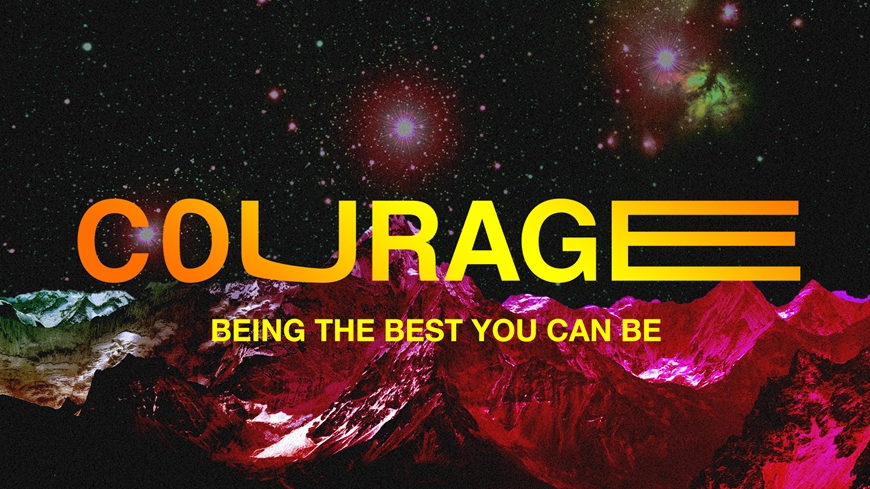 Courage Message Cover Graphic
