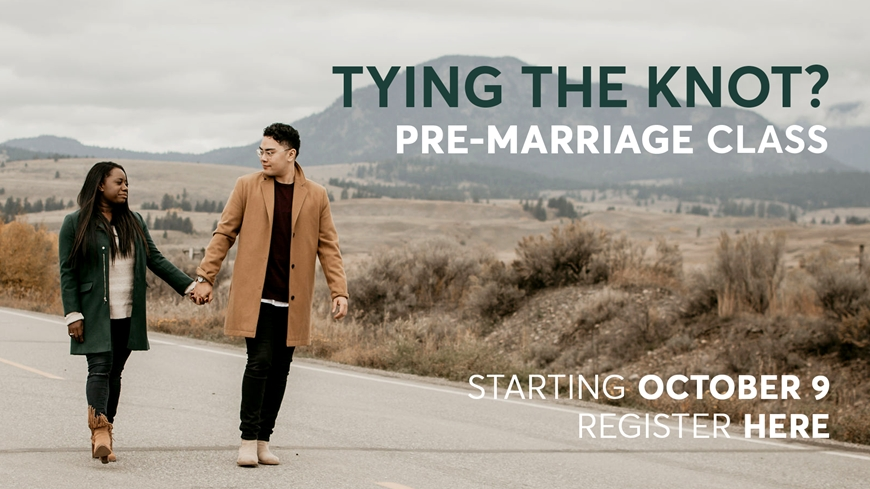 Pre-Marriage Class October 9