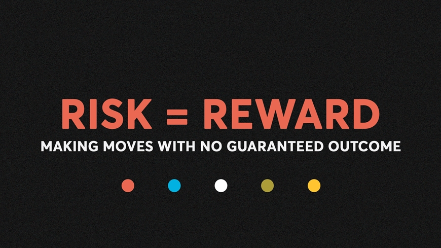 Risk = Reward Cover