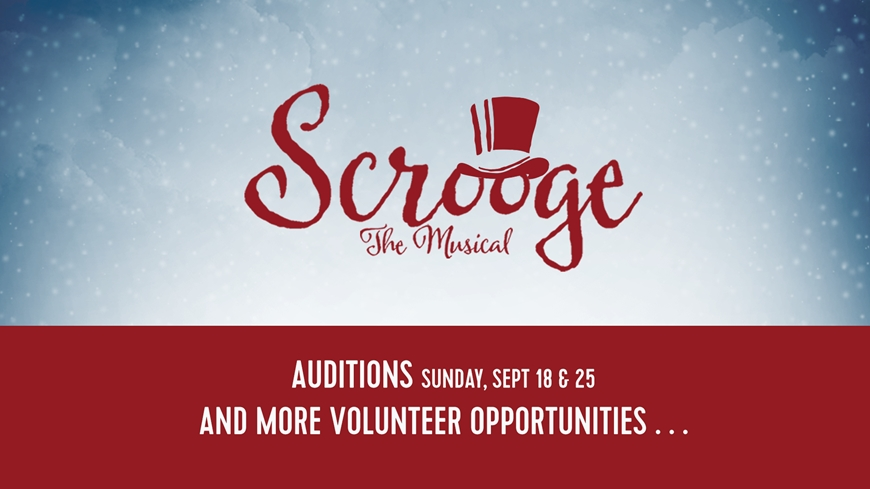 Scrooge Volunteer Opportunities