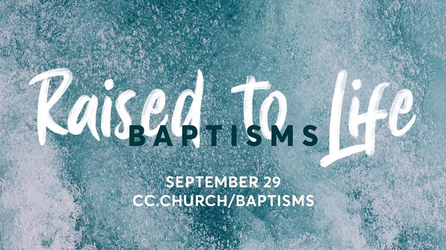 Baptisms: September 29