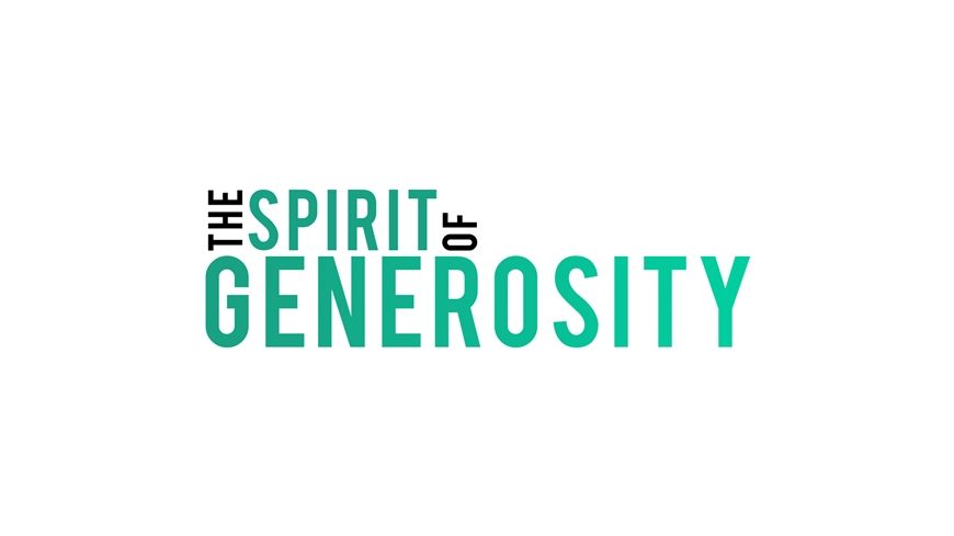 The spirit of generosity