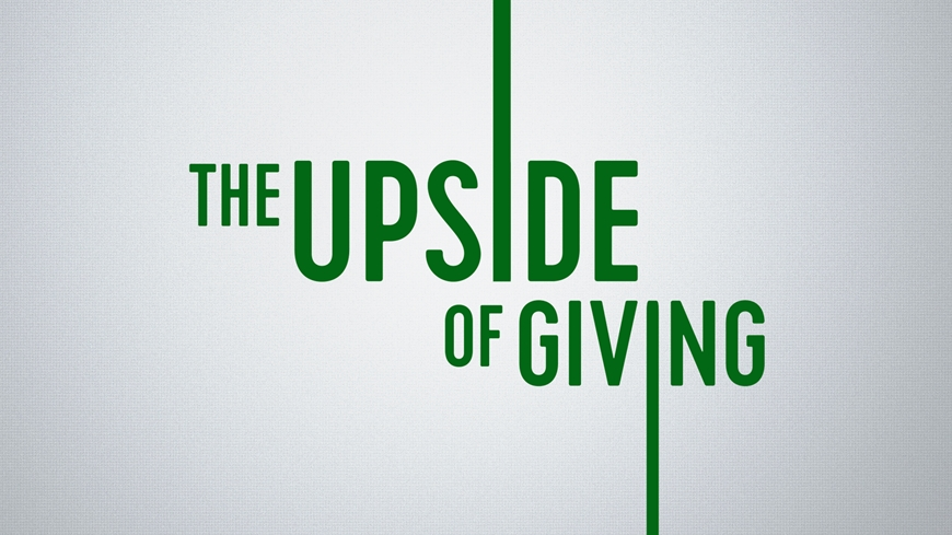 The Upside of Giving
