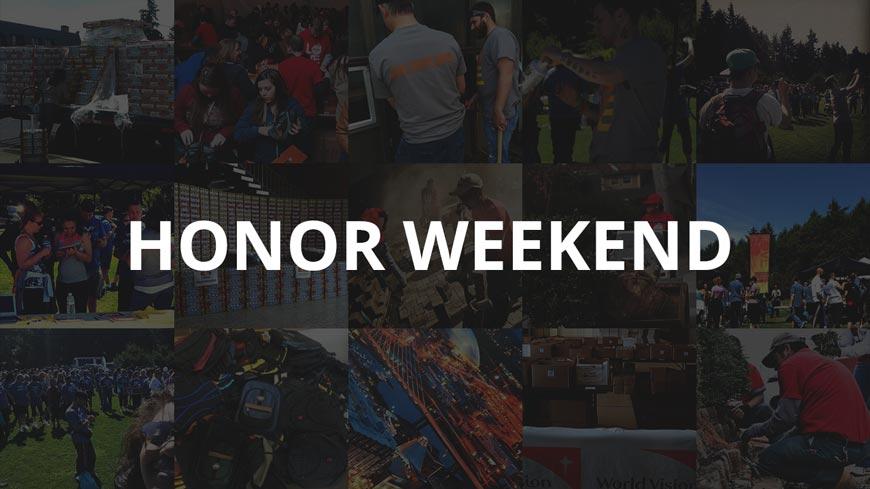 Honor Weekend