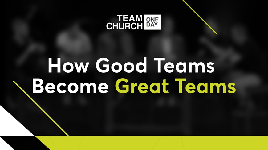 How Good Teams Become Great Teams